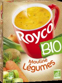 Royco - Gamme Les Bio - Mouliné Légumes