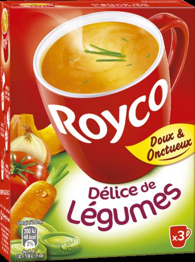 Royco - Gamme Les Classiques - Délice de Légumes