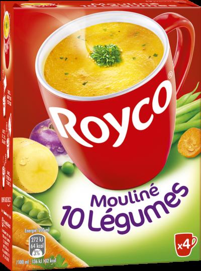 Royco - Gamme Les Classiques - Mouliné 10 Légumes