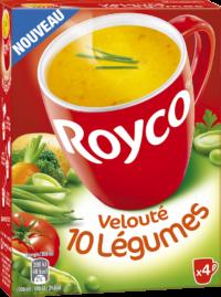 Royco - Gamme Les Classiques - Velouté 10 Légumes