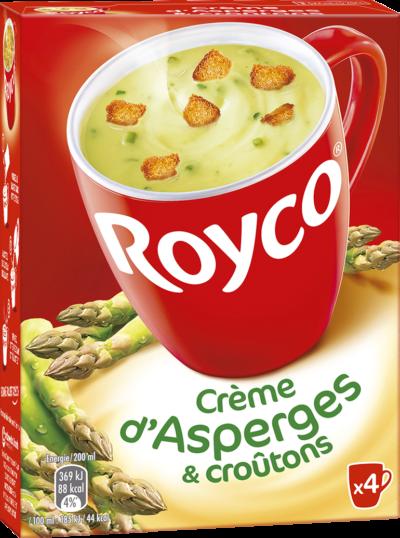 Royco - Gamme Les Crémeuses et spécialités - Crème d'Asperges & croûtons