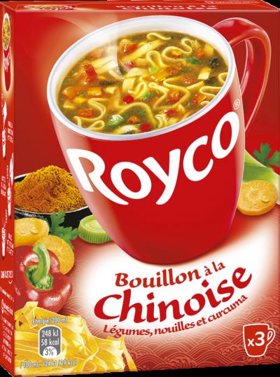 Royco - Gamme Les Exotiques - Bouillon à la Chinoise