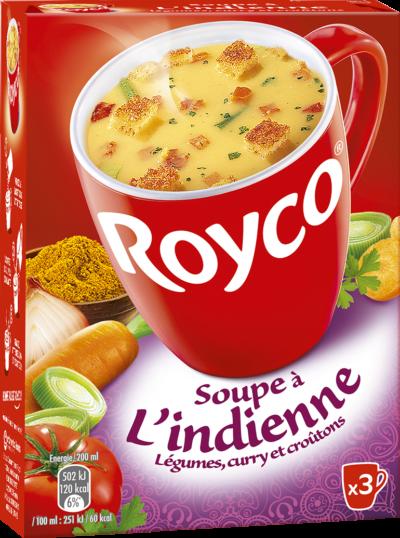 Royco - Gamme Les Exotiques - Soupe à l'Indienne