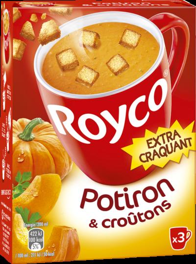 Royco - Gamme Les Extra Craquant - Potiron & croûtons