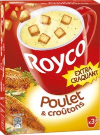 Royco - Gamme Les Extra Craquant - Poulet & croûtons