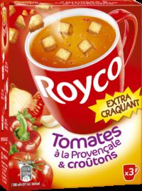 Royco - Gamme Les Extra Craquant - Tomates à la Provençale & croûtons