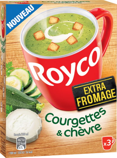 Royco - Gamme Les Extra Fromage - Courgettes & Chèvre