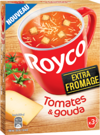 Royco - Gamme Les Extra Fromage - Tomates & Gouda