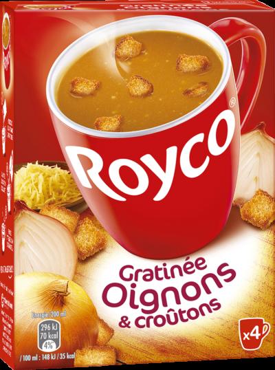 Royco - Gamme Les Crémeuses et spécialités - Gratinée Oignons & croûtons