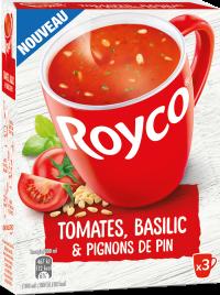 Royco - Gamme Les Graines et Légumineuses - Tomates, Basilic & Pignons de pin